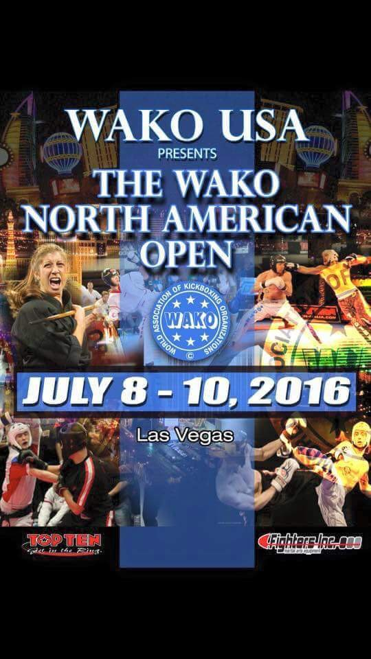 WAKO North American Open 2016