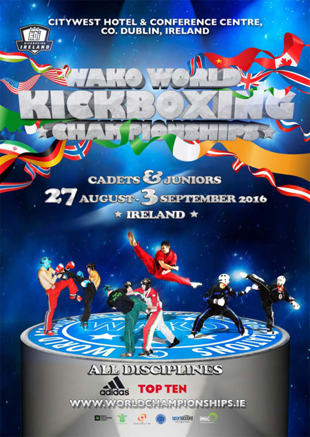 WAKO Cadets & Juniors World Championships 2016