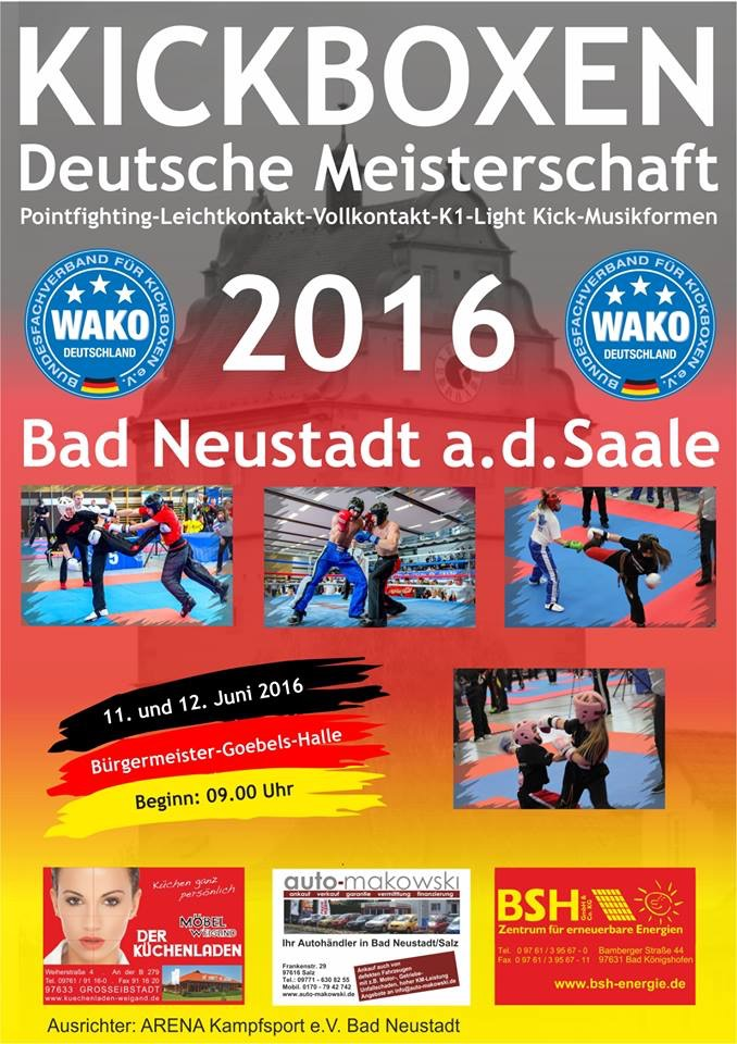 Deutsche Meisterschaft 2016 in Bad Neustadt